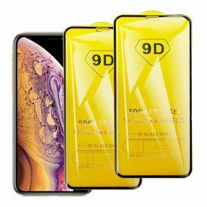 Für iPhone XS MAX 360 9H 9D Full Cover Panzerfolie echt Glas