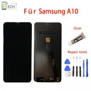 LCD Display für Samsung Galaxy A10 A105 2019 Touchscreen Glas Bildschirm Schwarz