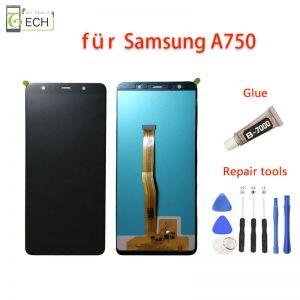 Für Samsung Galaxy LCD Display A7 A750F 2018  Touchscreen Bildschirm Schwarz