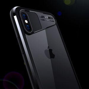 iPhone X XS Back cover Schutzhülle Rückseite Etui Schale elegant