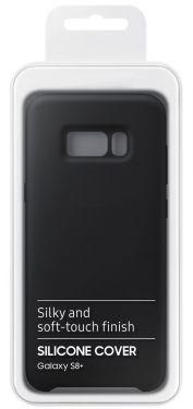 Schutzhülle Back cover für Samsung Galaxy S8 Plus Silikonhülle S8 + schwarz