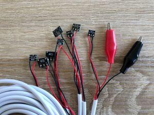 Testkabel für iPhone 4 5 6 7 8 X DC Handy Reparatur Power Kabel Netzteil