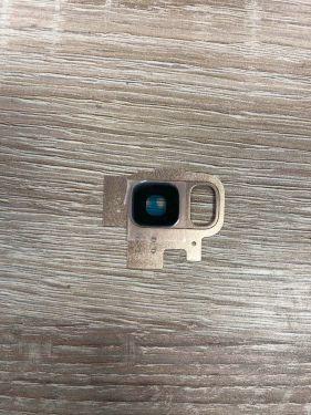 Für SAMSUNG GALAXY S9 G960F GOLD Kamera Glas Halterung Rahmen Camera Linse Set