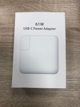Für Apple Macbook Pro 12 oder 13 USB-C Power Adapter Netzteil Ladegerät Typ C 61W