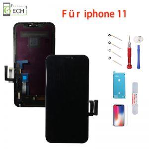 iPhone 11 Display Einheit schwarz Retina LCD Touchscreen Bildschirm