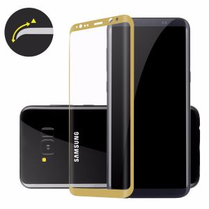 ADPO 3D 9H Tempered Glas Samsung Galaxy S8 Display Schutzfolie Schutz Panzerfolie