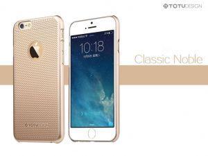 Für iPhone 6, 6s Schutzhülle Etui TOTU Gold Luxury Slim Protective Rückseite