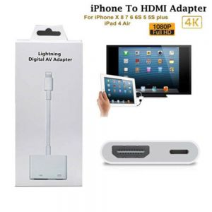 Digital AV Adapter 8Pin Lightning to HDMI Kabel Digital HDTV für iPhone  X XR 8 7 6 6S Plus iPad