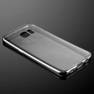 Für Samsung Galaxy S7 Edge Silikon Schutzhülle Case dünn Cover Tasche
