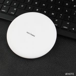 Ladestation Induktiv Ladegerät für Samsung und iPhone wireless in Weiß