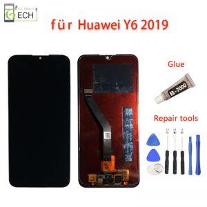 Huawei Y6 2019 LCD Display MRD-LX1 Komplettes Bildschirm Touchscreen Schwarz