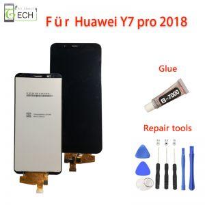 Für original Huawei Y7 Pro 2018/ Y7 prime 2018/ Y7 2018LCD Display in schwarzTouch Screen Full HD
