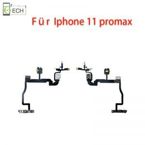 Für iPhone 11 Pro Max An Aus Power Taste Button LED Kamera Blitzlicht Flex Kabel
