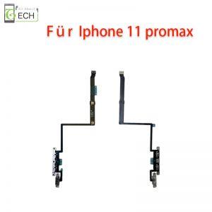 Für iPhone 11 Pro Max Lautstärke Volume Laut Leise Taste Stummschalter Regler