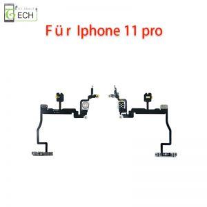 Für iPhone 11 Pro An Aus Power Taste Button LED Kamera Blitzlicht Flex Kabel