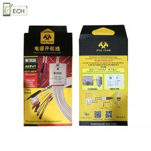 Testkabel für iPhone 5 6 7 8 X XS 11 Pro Max DC Handy Reparatur Power Kabel Netzteil