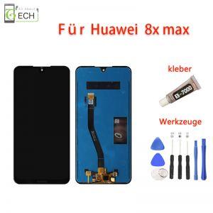 LCD Display fürHuawei Honor 8x Max Touch Screen Bildschirm Werkzeuge Kleber