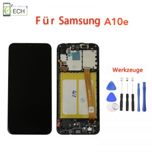 Für Samsung A10e 102ULCD Display Mit RahmenTouch Screen Bildschirm Werkzeuge