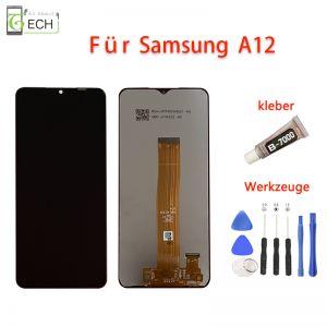 FürSamsungA12 A125F LCD Display Touch Screen Bildschirm Werkzeuge Kleber Flex