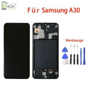 Für Samsung Galaxy A30 A305 LCD incellDisplay Mit Rahmen Touch Screen Bildschirm Werkzeuge
