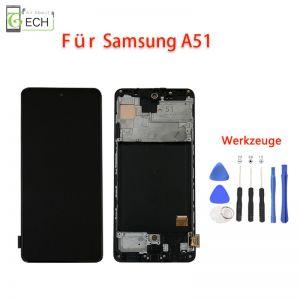 OLED Display fürSamsung A51 A515 Touch Screen Bildschirm + Werkzeuge Kleber