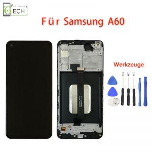 Für Samsung A60OLED Display mit Rahmen Touch Screen Bildschirm Werkzeuge