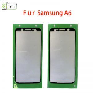 Für Samsung A6 A600 Rahmen Display Kleber Klebepad Dichtung wasserdicht Schwarz