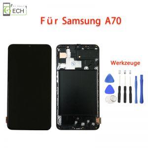 Für Samsung A70 A705LCD Incell Display Mit Rahmen Touch Screen Bildschirm Werkzeuge