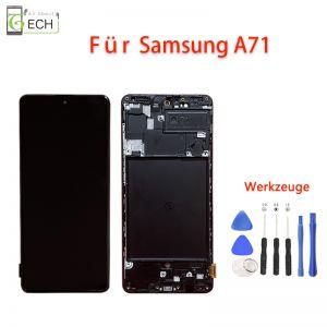 Für Samsung A71 SM-A715FLCD incell Display mit Rahmen Touch Screen Bildschirm