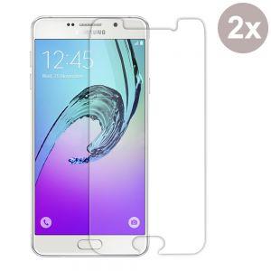 2 x Schutzfolie für Samsung A7 2016 Schutzglas 9H Panzerfolie Echtglas