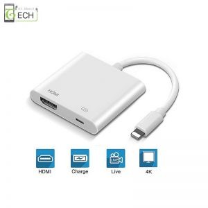 Digital AV Adapter 8Pin HDMI Kabel Digital HDTV für iPhone X XR 8 7 6 6S Plus iPad