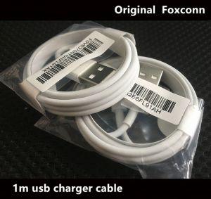 2 x Foxconn Kabel Datenkabel Ladekabel für iPod iPhone 5, 5s, 5se, 6, 6s, 7, 8, iPad