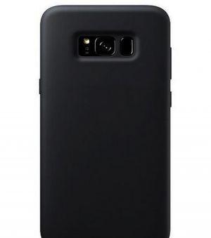 Schutzhülle Back cover für Samsung Galaxy Note 8 Silikonhülle Note8 schwarz