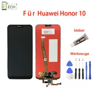 FürHuawei Honor 10LCD Display Touch Screen BildschirmKleber+ Werkzeuge