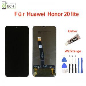 FürHuawei Honor 20 LiteLCD Display HRY-L21 Touch Screen BildschirmKleber+ Werkzeuge