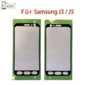 Für Samsung J3 J330F J5 J500F Rahmen Display Klebepad Dichtung wasserdicht Schwarz