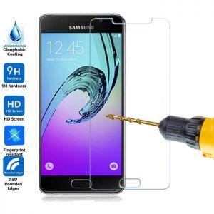 2 x Schutzfolie für Samsung J3 2016 Schutzglas 9H Panzerfolie Echtglas