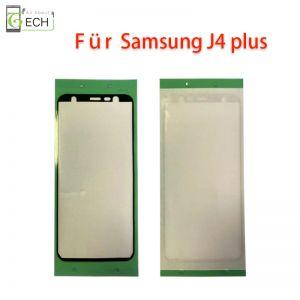 Für Samsung  J4 Plus J415 Rahmen Display Kleber Klebepad Dichtung wasserdicht Schwarz