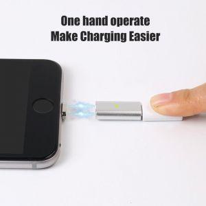 Für iPhone Magnet Adapter für Ladekabel iPhone iPad iPod alle Modelle ab iPhone 5