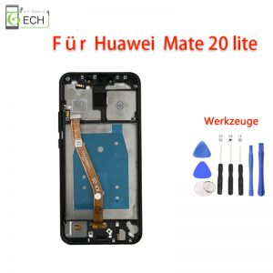 Für Huawei Mate 20 Lite LCD Display mit Rahmen Frame Touch Screen Full HD