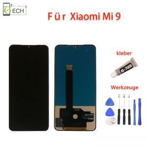 LCD Display für Xiaomi Mi9 Touch Screen BildschirmKleber+ Werkzeuge Incell