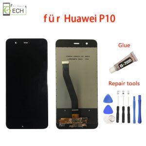 Für Original Huawei P10 LCD Display Schwarz  Touchscreen