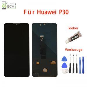 FürHuawei P30 OLED Display Touch Screen BildschirmKleber+ Werkzeuge