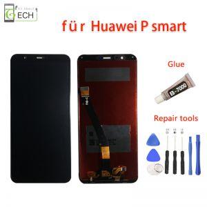 Für Original Huawei P Smart / Enjoy 7S LCD Display Schwarz Touchscreen
