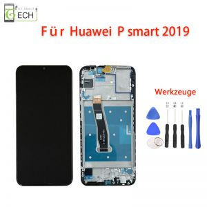 LCD Display fürHuawei P Smart 2019 mit Rahmen Touch Screen Bildschirm Werkzeuge