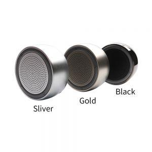 Lautsprecher Bluetooth mit 5W-Treiber Mini Portable Steel kabellos LED 500MAH