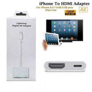 Digital AV Adapter 8Pin Lightning to HDMI Kabel Digital HDTV für iPhone  X XR 8 7 6 6S Plus iPad