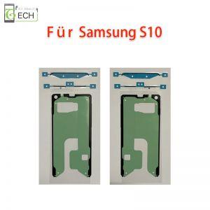 Für Samsung S10 G973 Rahmen Display Klebefolie Frontkleber Dichtung wasserdicht