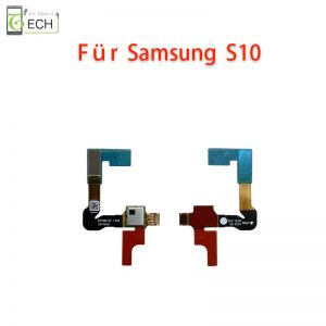 Für Samsung Galaxy S10 Home Taste Finger Abdruck Sensor Flex schwarz