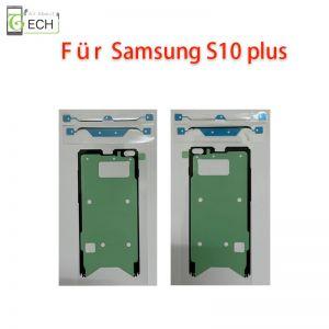 Für Samsung S10 Plus Rahmen Display Klebefolie Frontkleber Dichtung wasserdicht